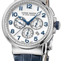 Ulysse Nardin Marine Chronograph Automatic in Steel