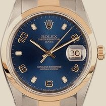 Rolex Day-Date 34 mm Steel and Yellow Gold