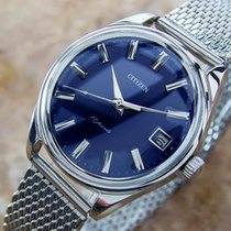 Citizen Manual Japanese Stainless Steel 1960s Collectible...