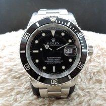 勞力士 (Rolex) SUBMARINER 16610 Black (T25) Dial with Black Bezel