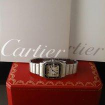 Cartier Santos galbée quartz