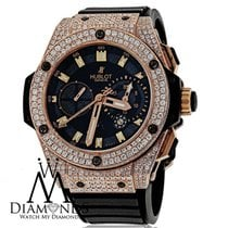 Hublot Diamond Hublot King Power Rose Gold Automatic 48mm...