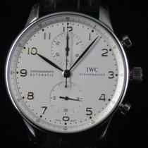 IWC Portoghese Chrono Steel Automatic Full Set Like New
