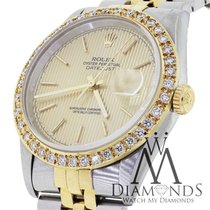 Rolex Datejust 16233 36mm Two-tone 18k Yellow Gold Stainess...
