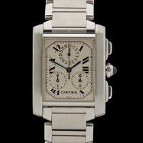 Cartier Tank Francaise Chronoreflex Chronograph Stainless...