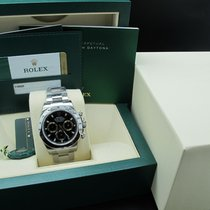 Rolex DAYTONA 116520 Stainless Steel Black Dial with Full Set