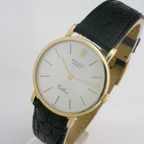 Rolex Cellini 18k gold Gents manual wind watch