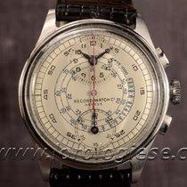 Record Vintage 1940`s Regulator Steel Chronograph Cal. Venus...