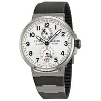 Ulysse Nardin Marine Chronometer Silver Dial Mens Watch...