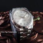 Rolex 116334G Datejust II Silver Diamond Dial [N E W]