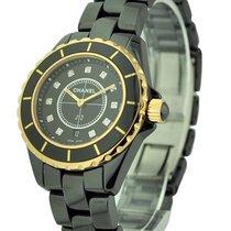 Chanel J12 Black 33mm Size H2543
