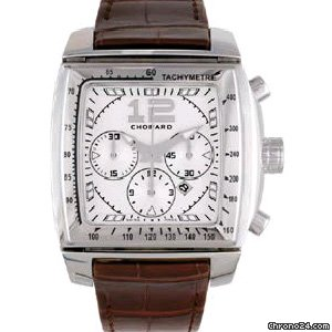 Chopard Two O Ten Chronograph Automatic Silver Dial Mens Watch 168462-3003   Write a Review