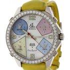 Jacob & Co. Men's . Five Time Zones MOP with Diamond...