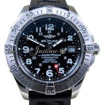 Breitling Superocean A17360 Steelfish Men's 42mm Black...