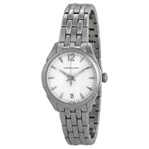 Hamilton Ladies Jazzmaster Silver Dial Stainless Steel Watch