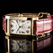 Cartier Tank Americaine Ref 8012005 750/000 Gg Qua