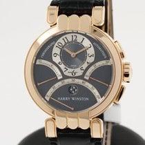 Harry Winston Excenter Chronograph in 18K rose gold - full set...