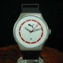 Puma Time Edelstahl Herrenuhr Mit Datum / Ref Pu102551001...