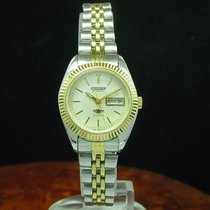 Citizen Gold Mantel / Edelstahl Automatic Damenuhr / Ref...