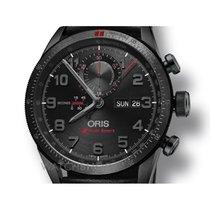 Oris Artix GT Audi Sport Chronograph DLC Leather Swiss Chron