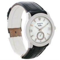 Rolex Cellini Cellinium Platinum Mechanical Mens Watch 5240