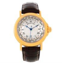 Breguet Marine Hora Mundi 24 World Time Zones Yellow Gold...