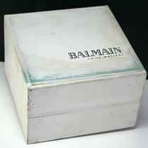Balmain Used BALMAIN Swiss Watch Storage Box Case with Cushion