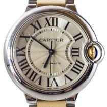 Cartier Ballon Bleu 3284 Steel 2016 White Dial 33mm