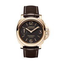 Panerai Luminor Marina 8 Days Oro Rosso  PAM00511 manual...