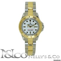 Rolex Lady YachtMaster - Two Tone Yellow Gold