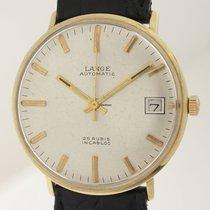 A. Lange & Söhne Automatik 14ct Gold 1950er aus Pforzheim ...