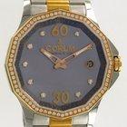 Corum Admiral's Cup Legend 38 Rose Gold/Steel MOP Diamonds