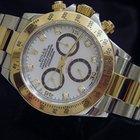 Rolex Cosmograph Daytona 2tone 18k Gold/ss W/ Mop/diamond 116523