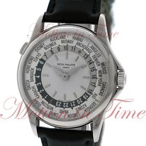 """Patek Philippe World Time """"Discontinued Model"""", Silver..."""