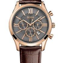 Hugo Boss 1513198 Ambassador Round Chrono Herren 43mm 3ATM