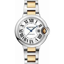 Cartier W2BB0002 Ballon Bleu 33mm in Steel - on Steel and...