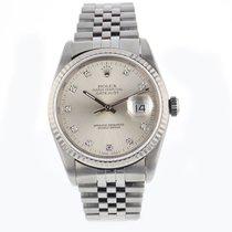 Rolex Mens Datejust 36mm Sapphire Crystal Quick Set Mens Circa...