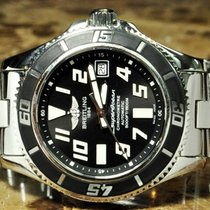 Breitling SuperOcean 42 Diver Black Abyss Dial