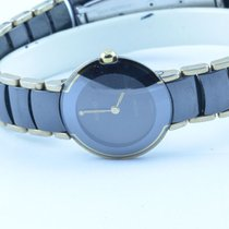 Rado Diastar Ronde Damen Uhr Keramik Quartz 25mm Top Zustand 2