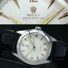 Rolex Oyster Perpetual Bubble Back Steel Watch