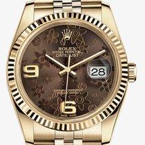 Rolex Datejust 36 / Bronze & Floral