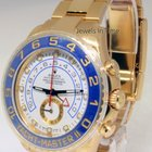 Rolex Yacht-Master 18k Yellow Gold Ceramic Watch NEW Box/Paper...
