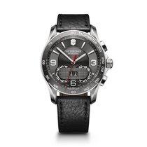 Victorinox Swiss Army Chrono Classic 1/100 chronograph, dark...