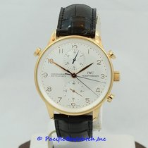 IWC Portuguese Chronograph Rattrapante IW371204 Pre-Owned
