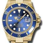 Rolex 18KT Yellow Gold submariner