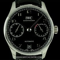IWC S/Steel Unworn 7 Day Power Reserve Portuguese B&P...