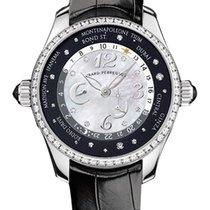 Girard Perregaux WW.TC Ladys 24 Hour Shopping in Steel with...