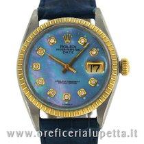 Rolex Date Quadrante Aftermarket con brillanti 1505