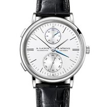 A. Lange & Söhne 386.026 Saxonia Dual Time Mens 38.5mm...