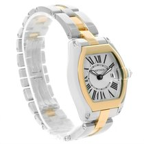 Cartier Roadster Ladies Steel And Yellow Gold Watch W62026y4